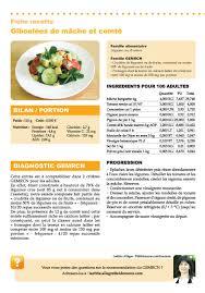 menu cuisine collective recette gemrcn giboulées de mâche et comté vici solutions