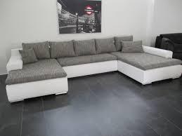 xxl wohnlandschaft big sofa xxl schwarz grau big sofa marbeya 290x110 schwarz mit