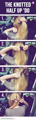 cute hairstyles you can do in 5 minutes quick easy hairstyles you can do yourself hairtechkearney