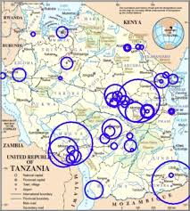 Map Of Tanzania Emergency And Surgery Services Of Primary Hospitals In The United