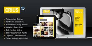 crius responsive photography creative portfolio creative for