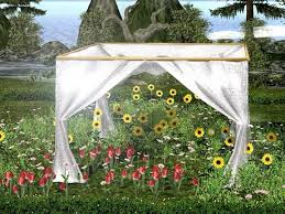 wedding ceremony canopy second marketplace aphrodite wedding small party