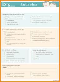 10 birth plan template australia parts of resume