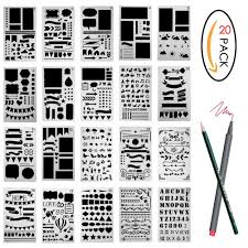 amazon co uk stencils paper u0026 paper crafts home u0026 kitchen