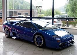 blue lamborghini diablo and concept cars lamborghini diablo
