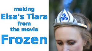 making elsa u0027s tiara movie frozen pictures