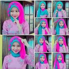 tutorial jilbab segi 4 untuk kebaya tutorial hijab untuk kebaya wisuda model favorit tahun ini model