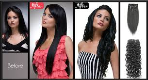 clip in hair extensions before and after original hair extensions online in mumbai happie hair