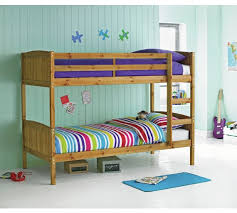 Buy HOME Detachable Single Bunk Bed Frame Pine At Argoscouk - Pine bunk bed