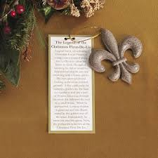 legend of fleur de lis ornament christmas country decoration prim