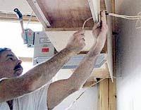installing framed cabinets
