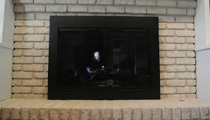Fireplace Screen Doors Home Depot by Lowes Fireplace Glass Doors Issues With Lowes Glass Doors Brick