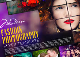 free modern fashion photography flyer template graphic google