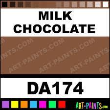 milk chocolate americana acrylic paints da174 milk chocolate