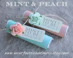 mint to be favors 26 best what s hot custom mint wedding favors images on