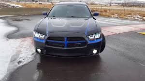 halo lights for dodge charger 2013 spec d projector hid halo headlights on 2013 dodge charger se
