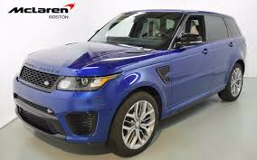 range rover svr 2015 land rover range rover sport 5 0l supercharged svr for sale