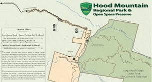 Mt Hood Trail Map Hiking Rincon Valley Blog