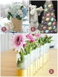 Easter Decorations With Flowers by Easter Centerpiece Inspirations For Cheerful Table Settings