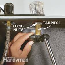 installing a new kitchen faucet how to replace a kitchen faucet family handyman