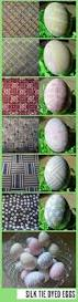 Decorating Easter Eggs With Silk by Silk Dyed Easter Eggs Craft Pinterest Egg Decorating Easter
