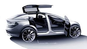 tesla concept motorcycle tesla model y crossover will have falcon doors deleted musk tweet