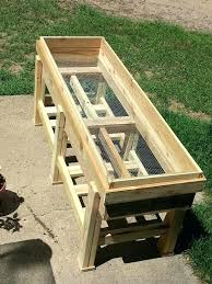 planter bench plans elevated planter box plans u2013 bakusearch info
