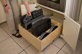 How To Make Pull Out Drawers In Kitchen Cabinets Pull Out Kitchen Cabinet Kitchen Cabinet Organizers Pull Out