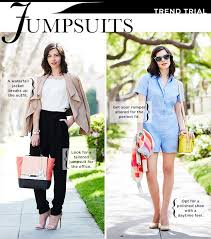 jumpsuit for how to style a jumpsuit for work and play whowhatwear