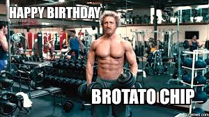 Happy Birthday Gym Meme - how to avoid bro and douche culture san diego sales