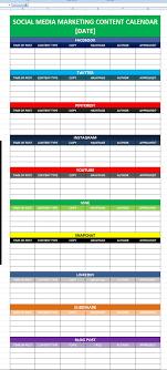 Editorial Calendar Template Excel Social Media Calender Template Excel 2014 Editorial Planner For