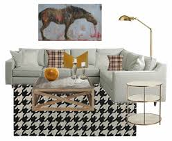 thanksgiving living room design board