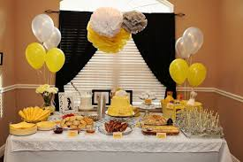 yellow baby shower decorations baby shower decorations yellow appealing yellow grey ba shower