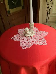 Christmas Table Cloths by Buy Tablecloth Red Silk Bright Red The Tablecloth On The Table