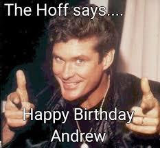 Andrew Meme - meme maker hoff birthday