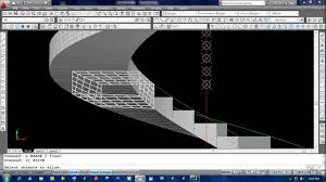 Stair Cad Block by