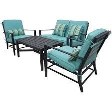 mainstays rockview 4 piece patio conversation u2026 gardenspassion com