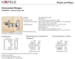 cabinet install concealed hinges easy mount hafele concealed