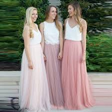 cheap tulle cheap women skirt for wedding jupe solid tulle skirts pink