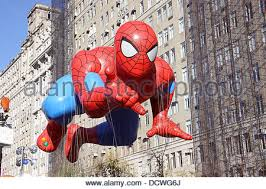 spider macy s thanksgiving day parade stock photo royalty