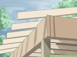 How To Build A Wood Floor With Pole Barn Construction by How To Build A Simple One Horse Barn 12 Steps With Pictures