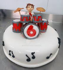 Little Drummer Cake By 6eki On Deviantart