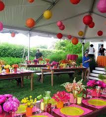 Outdoor Party Decoration Ideas Triyae Com U003d Backyard Party Decorating Ideas Various Design