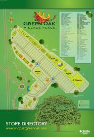 Florida Mall Store Map by Directory Green Oak Village Place Green Oak Village Place