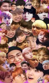 Collage Memes - bts 방탄소년단 meme collage stickers by breezefrozen redbubble