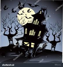 haunted house halloween stock vector 34257997 shutterstock