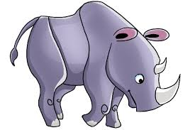 rhinoceros cartoon animal u0027s homepage