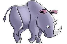rhinoceros cartoon animal u0027s homepage