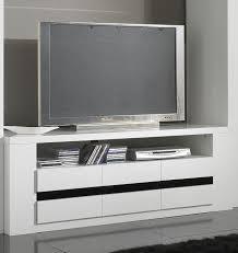 bon coin meuble de chambre meuble tv design laqué blanc et noir meubles tv hifi