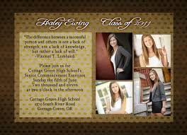 high school graduation announcement custom senior graduation photography cards colorado springs ten18